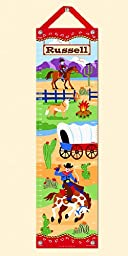 Ride Em Personalized Growth Chart