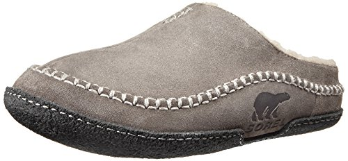 Sorel Men's Falcon Ridge Slipper,Shale,12 M US (Best Slippers For Stinky Feet)