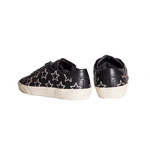 Saint Laurent Hombre 443170AQ9201258 Negro Cuero Zapatillas
