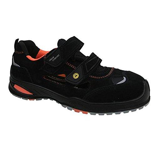 Sanita, Chaussures De Sécurité Pour Homme, Noir / Orange 47