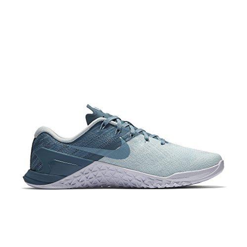 Nike Women Nike Metcon 3 - Glacier Blue/Smokey Blue/White/Mica Blue (8.5) (Sticky Nike Shoes)