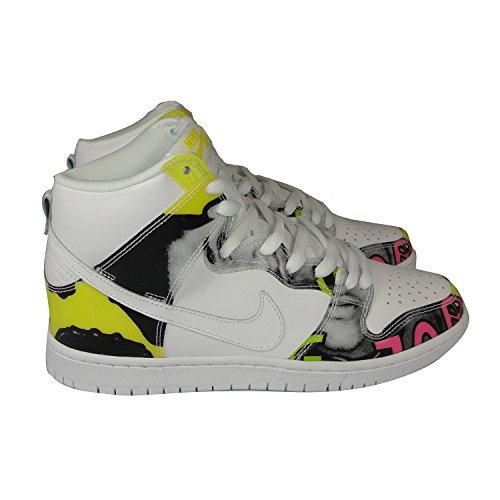 Nike Herren Dunk High Premium De La Soul weiß Sneaker Size 44 EU