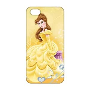 Beauty and the Beast lovely girl 3D Phone Case for iPhone 5s