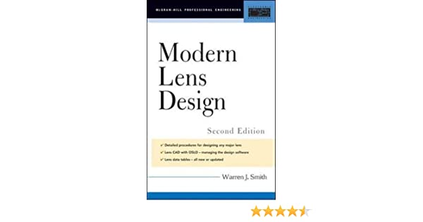 Modern Lens Design McGraw-Hill Professional Engineering: Amazon.es ...