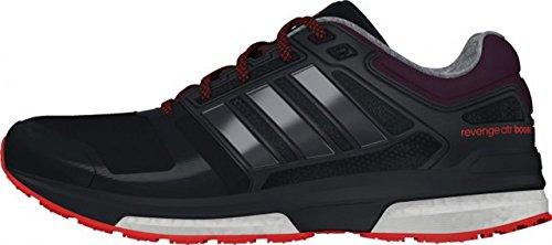 adidas Revenge Boost Climaheat W - Zapatillas para mujer Negro / Rojo / Naranja