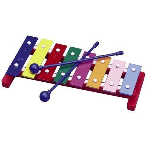 Homeschool Music Supplies (Pre-K / Kindergarten) - Toddler 8 Note Glockenspiel / Xylophone by Hohner by Homeschooling Music Supplies (Xylophone Hohner)