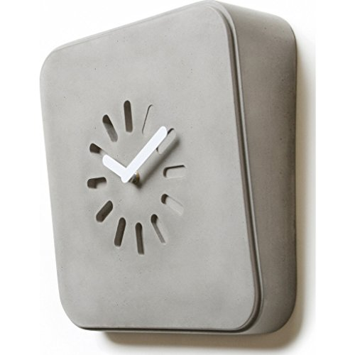 Lyon Béton Life in Progress Wall Clock - Concrete