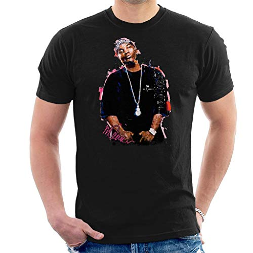 Sidney Maurer Original Portrait of Young Jeezy Men's T-Shirt