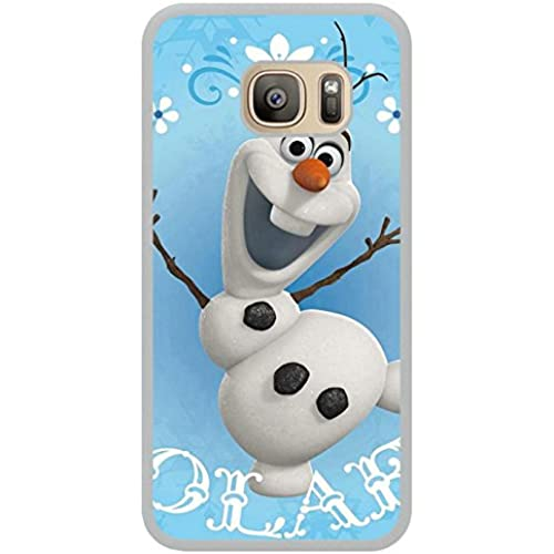 Olaf Snowman White Shell Phone Case Fit For Samsung Galaxy S7,Newest Cover Sales