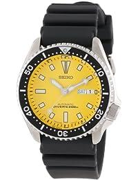 Seiko Men's SKXA35 Automatic Dive Urethane Strap Watch