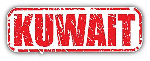 Kuwait Grunge Stamp Window Truck Car Bumper Sticker Decal 6