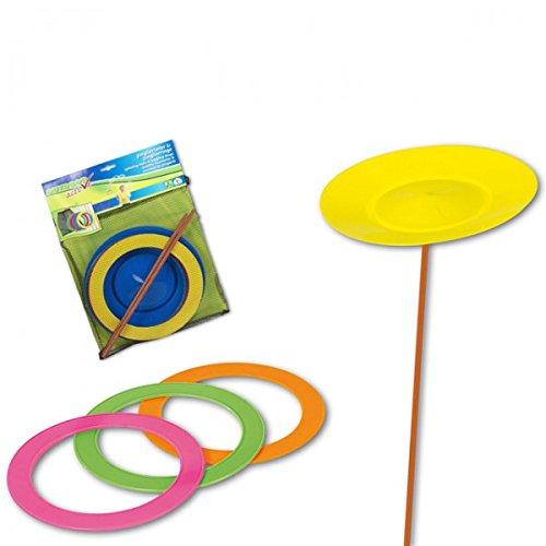 8 tlg. Jonglierset Set Aufbewahrungsnetz Geschicklichkeitsspiel Kinder Spielzeug sonstige