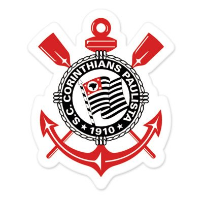 fan products of Sc Corinthians Paulista - SP - Brazil - Brasil Football Soccer Futbol - Car Sticker - 5