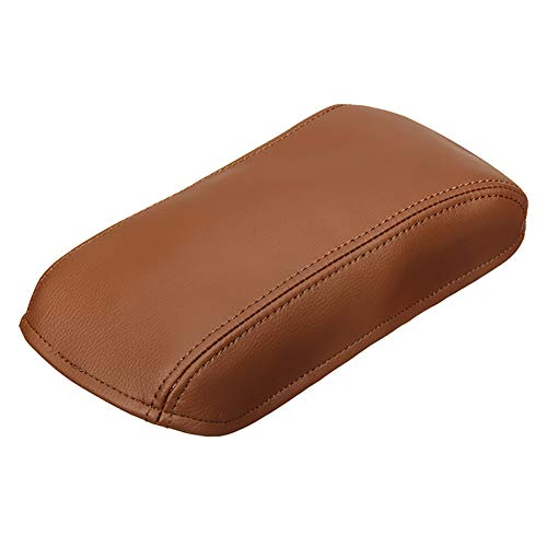 YUSHHO56T Armrest Box Protective Cover Car Seats Accessoires Protective Cover Faux Leather Car Central Armrest Box Protection Cover for Toyota Corolla 13-18 - Light Brown from YUSHHO56T
