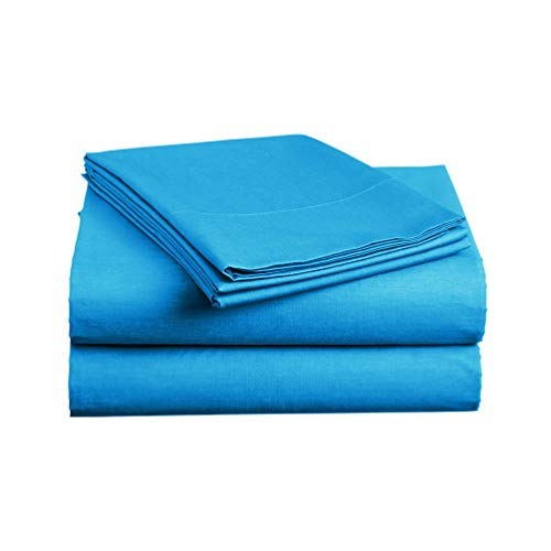 Luxe Bedding Sets - Microfiber Twin Sheet Set 3 Piece Bed Sheets, Deep Pocket Fitted Sheet, Flat Sheet, Pillow Case Twin Size - ()