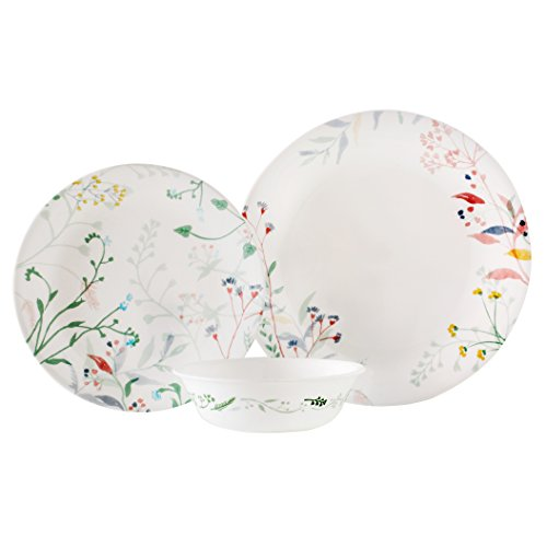 Corelle Vitrelle 12 - Piece Glass Chip and
