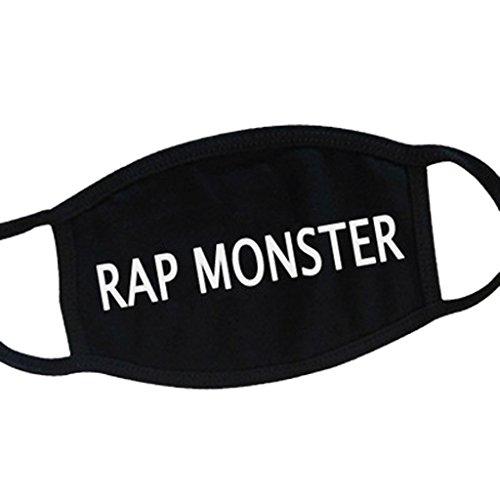 BTS Bangtan Boys All Members Mouth Mask SUGA JIMIN V Mouth-muffle Face Mask RAP MONSTER (Monster Mouth)
