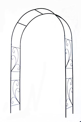 """Arch Top Wall Trellis - EcoTrellis Plant Support ArchTrellis W 53.15""""x H86.6"""