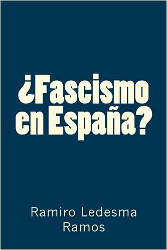 Fascismo en España?: Amazon.es: Ledesma Ramos, Ramiro: Libros