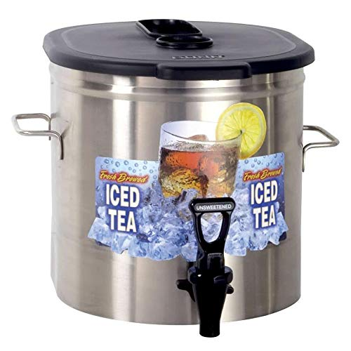 Dispenser 4 Tea Tdo Iced (Bunn TDO-3.5 3.5 Gallon Iced Tea Dispenser - Low Profile (Bunn 37100.0000))