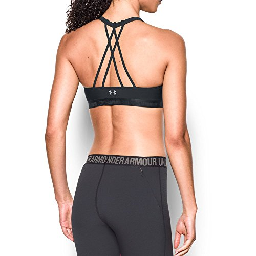 Under Armour Women's Armour Strappy, Black/Black, X-Small