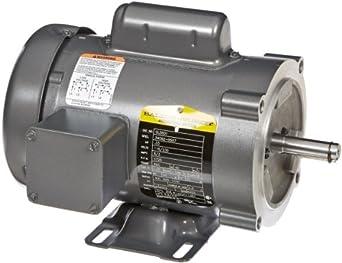 Baldor cl3501 general purpose ac motor single phase 56c for Baldor permanent magnet motors
