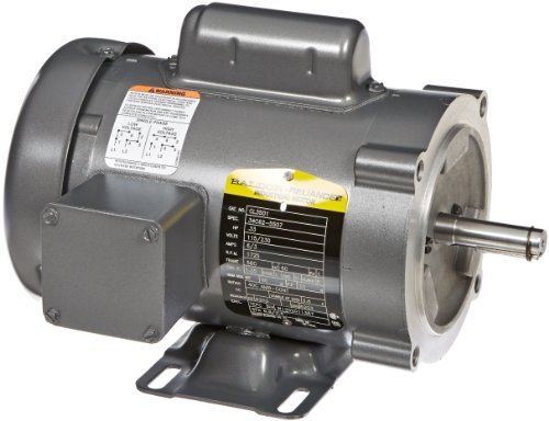 Baldor CL3501 General Purpose AC Motor, Single Phase, 56C Frame, TEFC Enclosure, 33/100Hp Output, 1725rpm, 60Hz, 115/230V Voltage - Single Phase 56c Frame