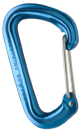 Black Diamond Neutrino Carabiner, Blue
