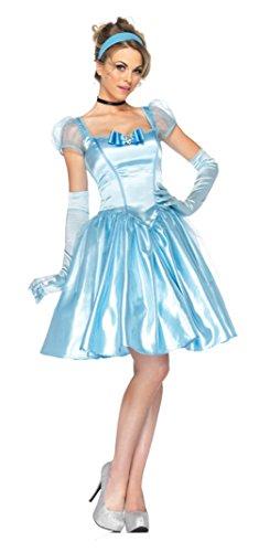 Leg Avenue Womens Fancy Cinderella Classic Disney Theme