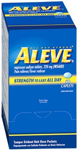 Aleve Pain Relief Tablets Naproxen Sodium 220 mg. MS70545 (300) by Aleve