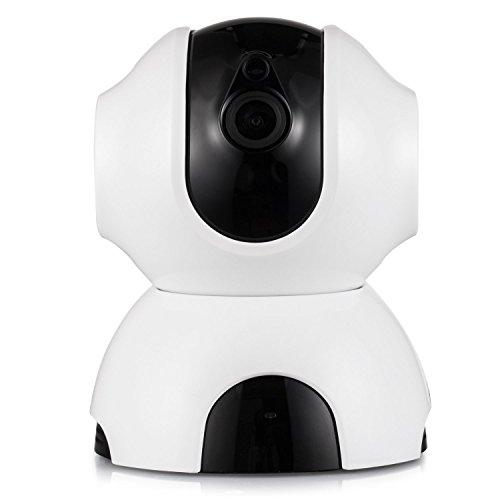Rukerway IP Cámara Inalámbrica, Monitor de Bebé con Audio de Dos Vías, Cámara de Visión Nocturna 720p IP, Alerta de Detección de Movimiento, ...