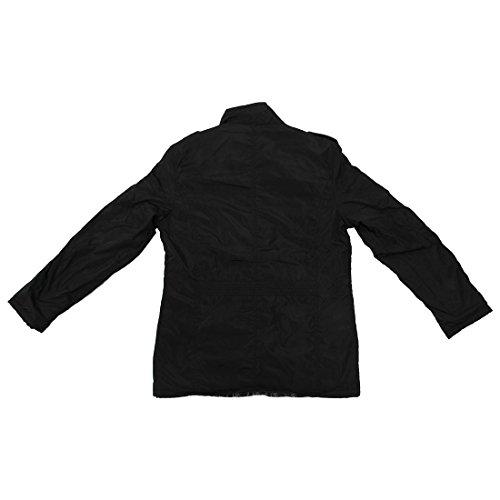 Abrigo Nuevos Casual Sodial Ropa Hombres Negro Calido La Uf1031 L Delgados Abrigos r De Chaqueta Capa Invierno OOqpE7rWw