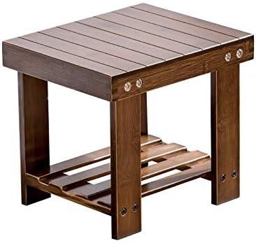 Lyx Table Basse Tabouret En Bois Massif Tabouret En Bambou Petit