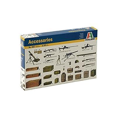 Italeri 1/35 Military Accessories Kit 0407S: Toys & Games