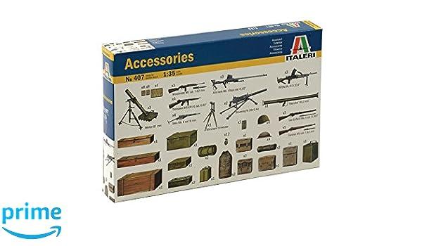 Italeri - Accesorio para maquetas escala 1:35 (ITA550407): Amazon.es: Juguetes y juegos