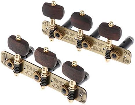 SDENSHI 6 Piezas Clavijas de Afinación para Guitarra Conectados ...
