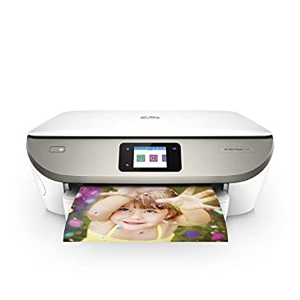 HP Envy Photo 7134 All-in-One Wi-Fi Photo Printer with 5 Months of Instant Ink Included, White