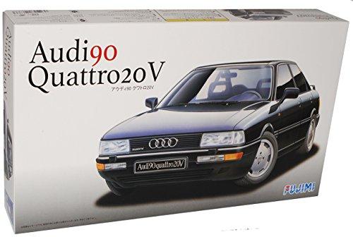 Audi 80 B3 90 Quattro 20V Limousine Schwarz 1987-1991 Kit Bausatz 1/24 Fujimi Modell Auto Modell Auto