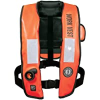 MUSTANG SURVIVAL Mustang Inflatable Work Vest w/HIT Orange / MD3188 /