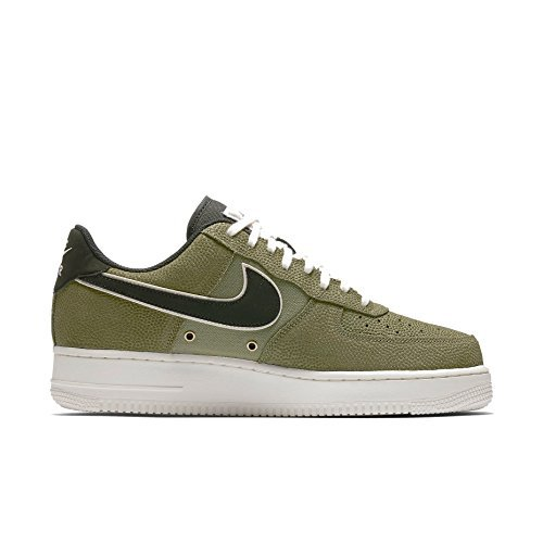 """Nike Puts """"Palm Green"""" Basketball Leather Uppers On The Air Force 1 (13) by NIKE (Image #1)"""