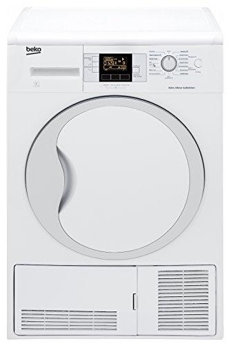Beko DCU 7330 Kondenstrockner / B / 504 kWh/Jahr / 7 kg / Weiß / Multifunktionsdisplay / Knitterschutz