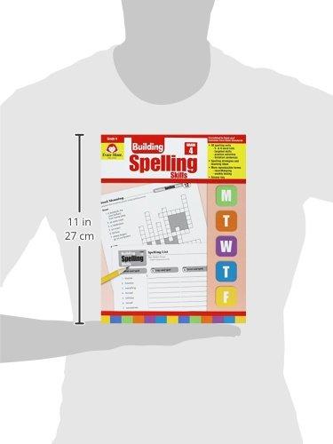 Amazon.com: Building Spelling Skills, Grade 4 (9781557998422 ...