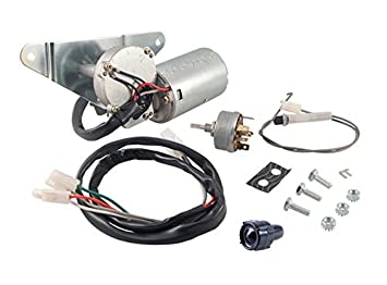 amazon com 12 v wiper motor kit with wiper switch 2 speed rh amazon com Dodge Wiper Motor Wiring Diagram Ford Wiper Motor Wiring Color