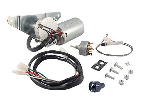 Kit de Motor para limpiaparabrisas con interruptor para limpiaparabrisas de 12 V y 2 velocidad eléctrico motor para limpiaparabrisas para F100 F150 F250 ...