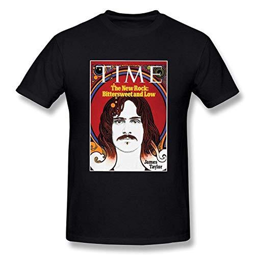 Hoosand Funny Mens James Taylor Time 1971 Generic T-Shirts Black