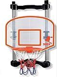 NSG Over The Door Basketball, Black/Orange