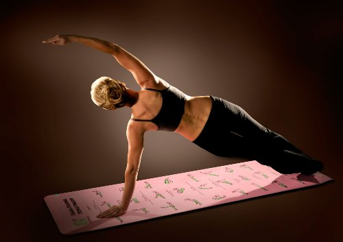 G2 Fit Self Guiding Eco Friendly Pilates Mat