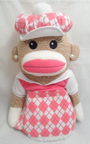 Winning Edge Designs Golf- Girl Sock Monkey Anna Banana Head Cover