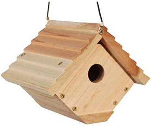 white Woodlink Audubon Traditional Wren House Model NAWREN