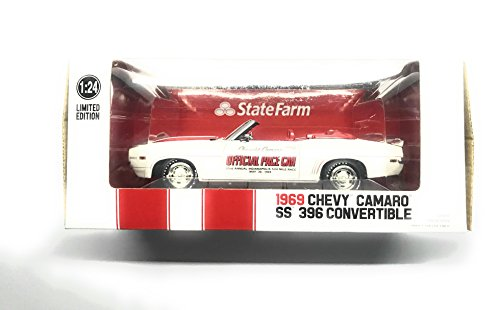 1969 CAMARO SS 396 CONVERTIBLE INDY 500 PACE CAR 1:24 STATE - Indy Car Camaro Pace 500
